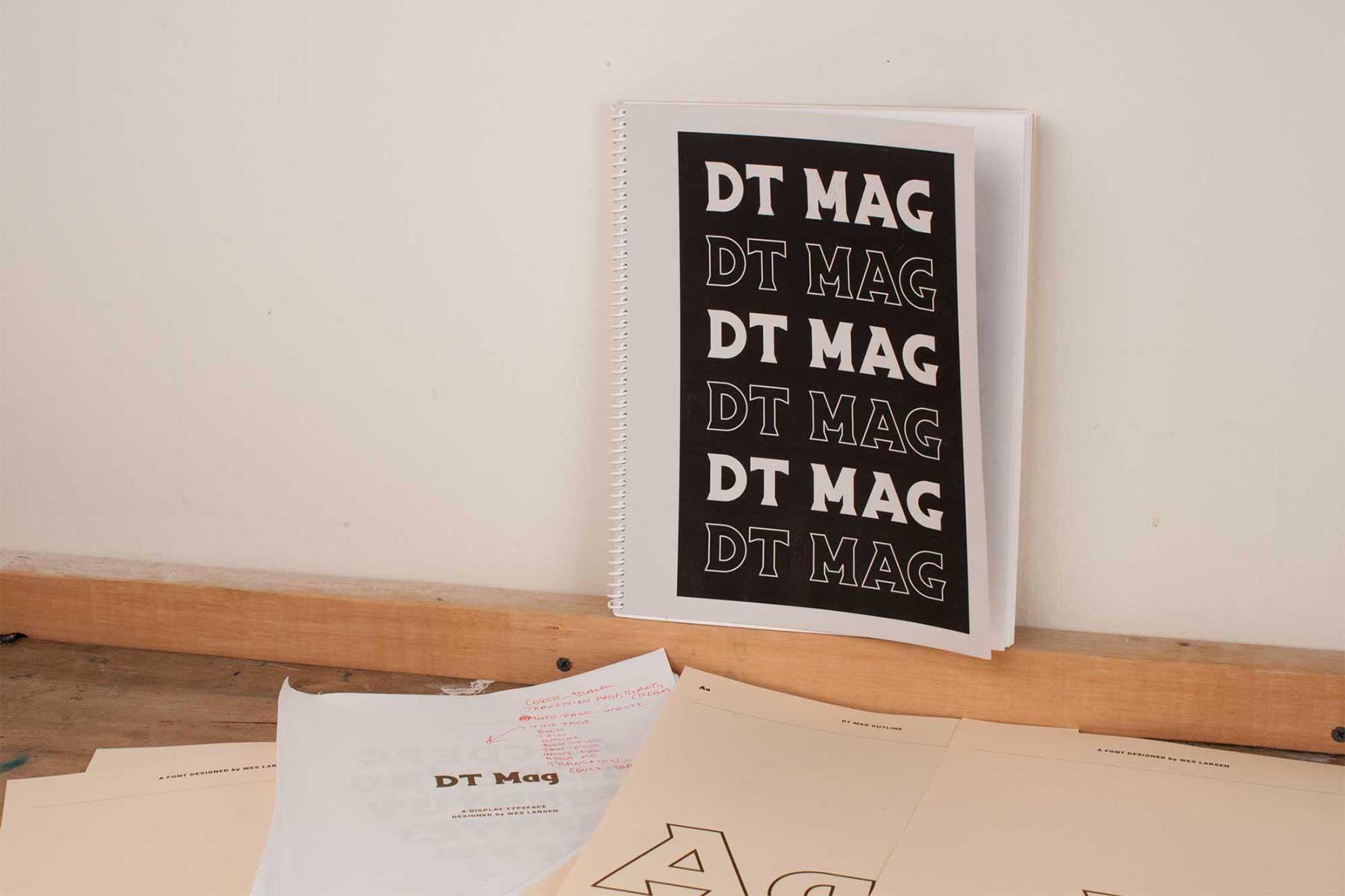 DT Mag Specimen Book